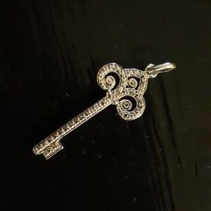Jewelry - 925 sterling silver key charm